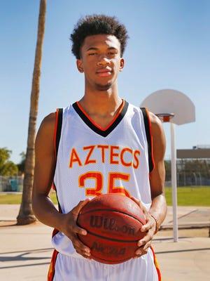 All-Arizona boys basketball player Marvin Bagley III of Corona del Sol was named a CBS Max Preps All-American.