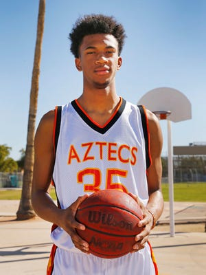 Corona del Sol freshman Marvin Bagley III averaged 19.6 points, 10.3 rebounds, 2.4 blocks and 2.3 assists this season.