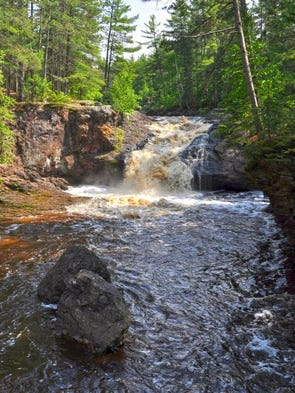 Amnicon Falls State Park during a June 2013 visit.