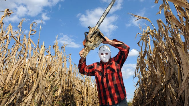 Watch out for Jasons and chainsaws and flannel shirts while trying to find your way out of one of the area's haunted corn mazes.