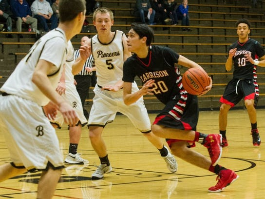 Harrison senior Robin Duncan will join older brothers Ernie and Everett next season at the University of Vermont.