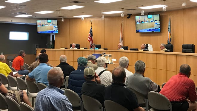 The Marco Island Planning Board met Friday morning in the City Council's chambers. The board's next meeting is 9 a.m. Feb. 3.