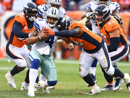 NFL: Dallas Cowboys at Denver Broncos