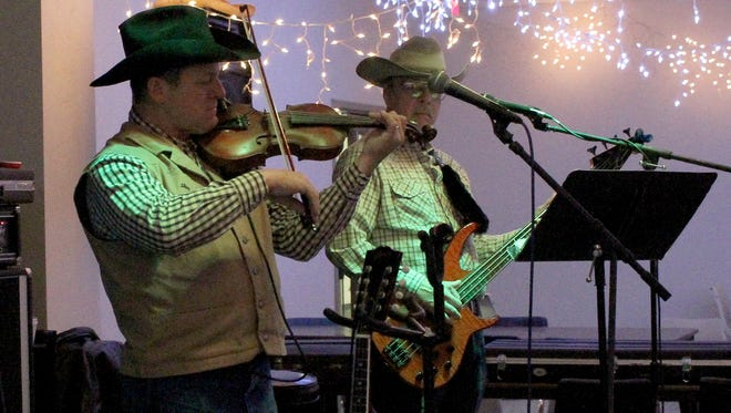 The Red Door Band performs at the Country-Western Live Band Dance Friday, Jan. 26, 2018, in the 50 Plus Zone at the Wichita Falls Public Library.