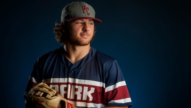 Montgomery Advertiser All-Metro 5A-7A Baseball Player of the Year Jackson Tate, of Park Crossing, in Montgomery, Ala. on Wednesday June 14, 2017.