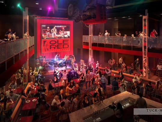 Blake Shelton and Ryman Hospitality Properties Inc. will open a third Ole Red entertainment venue in the heart of Gatlinburg with a week of events in March.