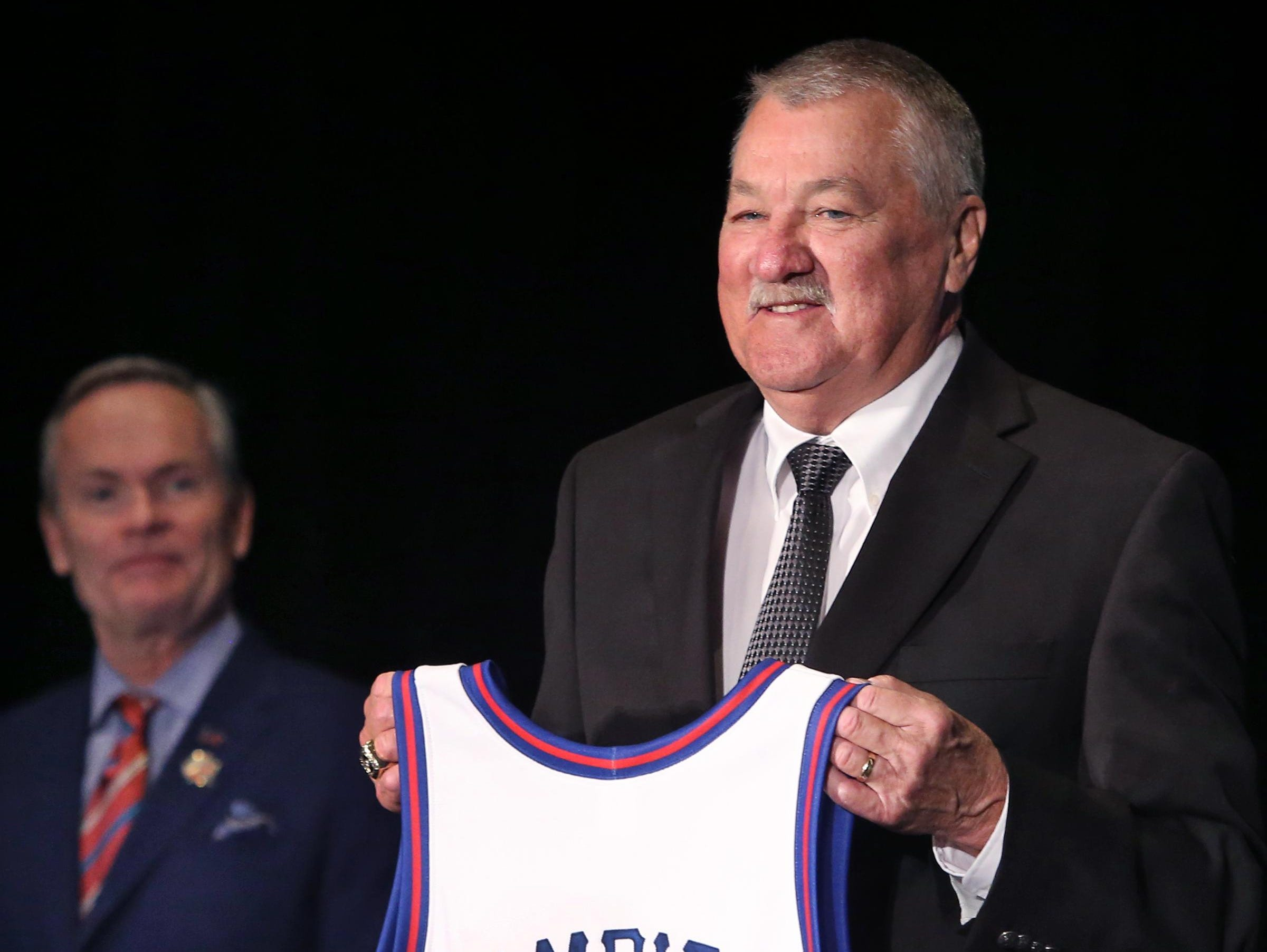 Indianapolis native Louie Dampier, a seven-time ABA All-Star, is one of 11 new members of the Basketball Hall of Fame.