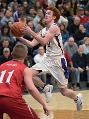 Unioto's Logan Swackhammer broke the school's all-time