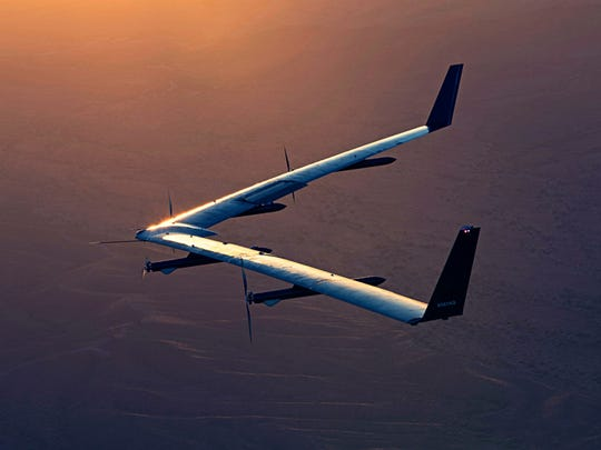 Facebook's Aquila aircraft successfully completed its