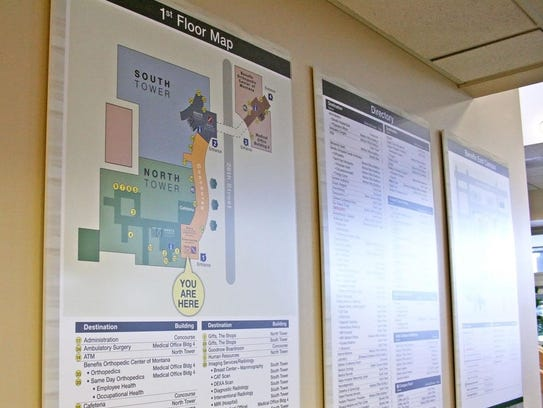 Benefis Health System spent a year developing new wayfinding