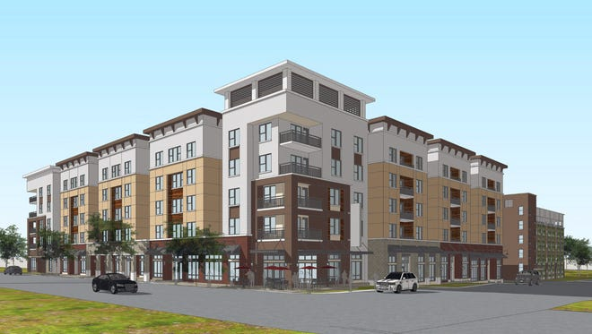 A new student housing bid for College Avenue and Keowee Trail in downtown Clemson, proposed by the Gilbane Development Co., is pending before the city's Board of Architectural Review.