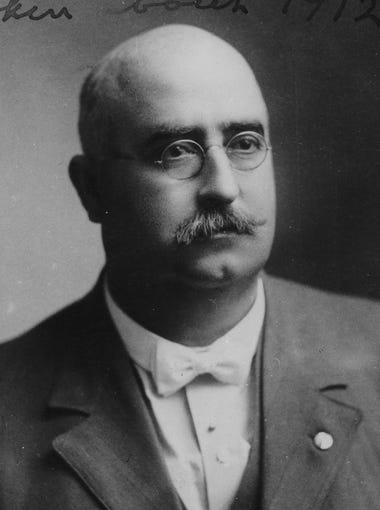 Gov. George Wylie Hunt   1911-1919, 1923-1929, 1931-1933   Democrat: In 1904, George Wylie Paul Hunt became the first Mayor of Globe, and throughout his political career, he held positions on the Arizona Territorial Legislature and the Arizona Territorial Council. He was the president of the Arizona Constitutional Convention, where he helped write Arizona's constitution, which led to the territory finally acquiring state status. He became Arizona's first governor on February 14, 1912, in the presence of retired territorial officials and the newly elected officers of the new state in a simple ceremony. He served a total of seven terms, serving both before and after the terms of Thomas E. Campbell and John C. Phillips. Hunt died on December 24, 1934, and is buried at the Papago Park Cemetery in Phoenix.