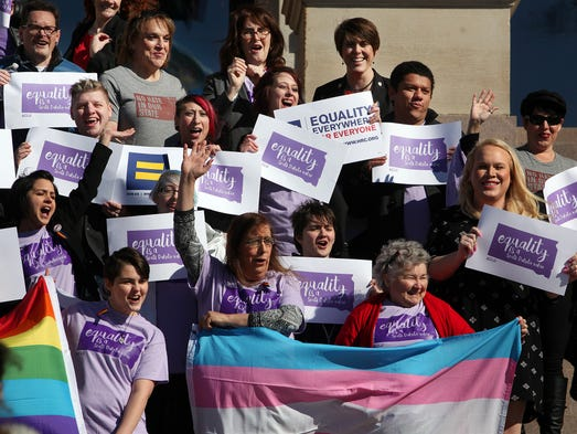 Representatives from the Center for Equality, American