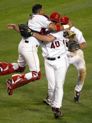 Abilene High grad John Lackey won his first of three World Series championships as a rookie with the Los Angeles Angels of Anaheim in 2002. Lackey is being inducted into the Big Country Athletic Hall of Fame on Monday.