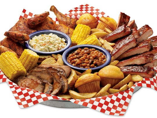 At Famous Dave's, you'll find a variety of barbecue