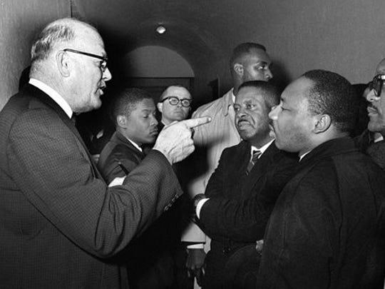 In this March 1, 1965, file photo, Registrar Carl Golson