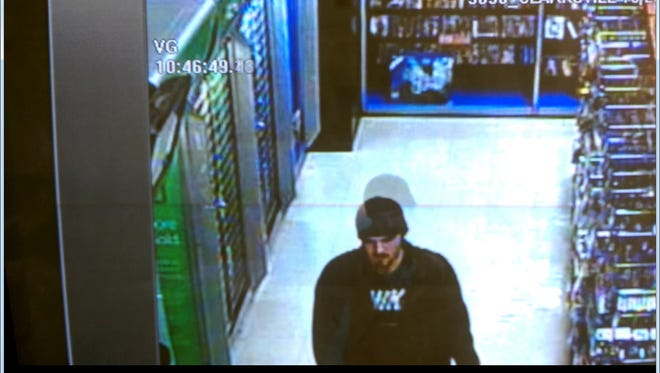 Suspect in Hastings robbery