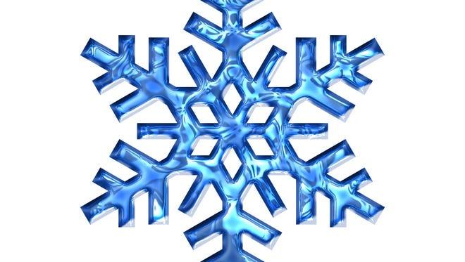 A snowflake logo