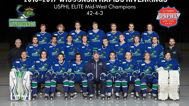 The Wisconsin Rapids Riverkings had their best season since coming to Rapids. They played third in the USPHL playoffs