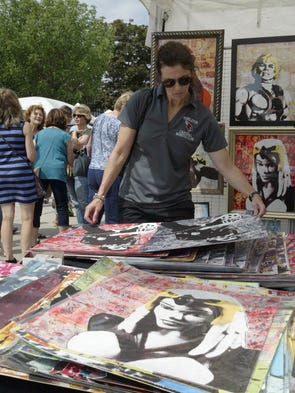 A scene from the John Michael Kohler Arts Center's Midsummer Festival of the Arts on Saturday, July 19.
