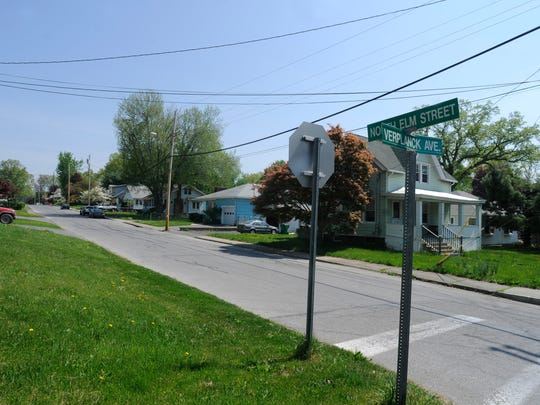 Michael G. Murphy abandoned a car-jacked vehicle at the end of North Elm Street in Beacon near the corner of Tilden Avenue, on the far left, on May 7, 2015.