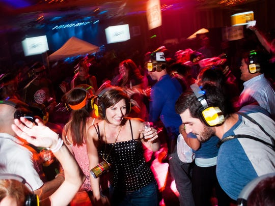 Besides beer, Canfest 2015 features a silent disco.
