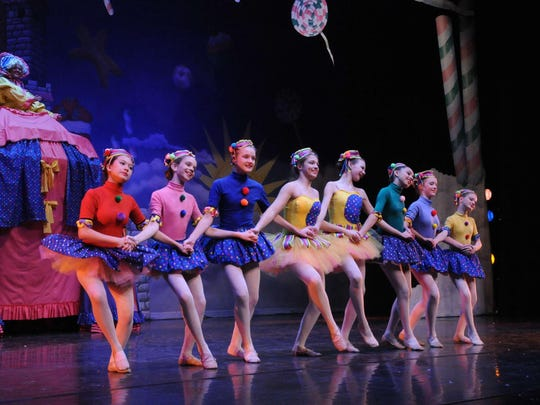 Mother Ginger and the Dancing Bon Bons from The Nutcracker.