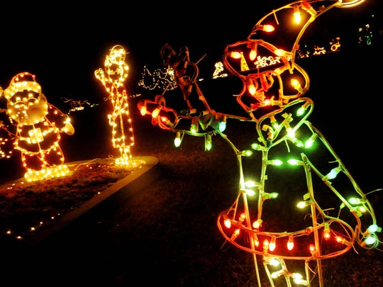 Stroll amid thousands of twinkling lights, dozens of lighted displays and giant Christmas cards to the community at the annual Christmas in Roseland in Shreveport.