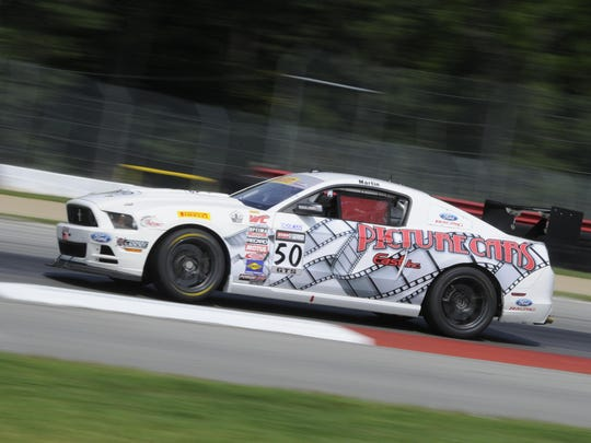 Dean Martin has had success the past few years in the Pirelli World Challenge. On Saturday and Sunday, he'll drive in the Trans Am Series on Belle Isle.