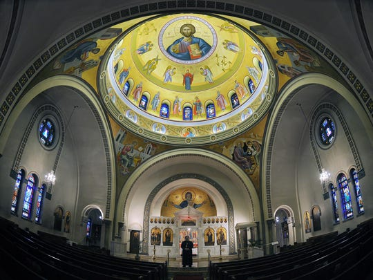 Tours are available of Holy Trinity Greek Orthodox Church during its annual Greek Festival.