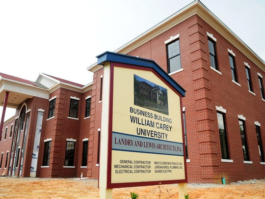 On Aug. 28, William Carey University dedicated its new $3.3 million School of Business building on Tuscan Avenue.