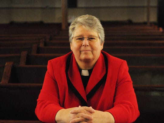 The Rev. Deborah Hafner DeWinter, pastor at the First Evangelical Lutheran Church in the City of Poughkeepsie.