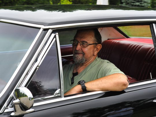Ray Banse, 72, of Almond, behind the wheel of his '65 Buick Skylark Gran Sport. He was the car's original owner.