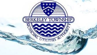 The seal of the Berkeley Township Municipal Utilities Authority in Ocean County, New Jersey.