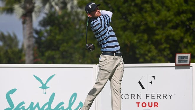Jared Wolfe of Nocatee was one of 25 Korn Ferry Tour players who earned their PGA Tour cards for 2021-22 off the Korn Ferry Tour points list.