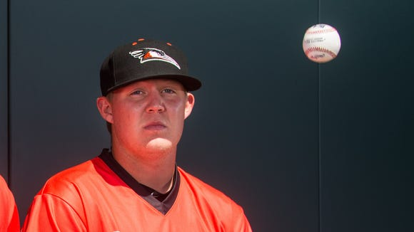 Garrett Cleavinger is one of many who will anchor a strong bullpen for Delmarva.