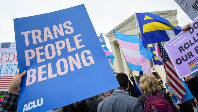 A record number of transgender and gender nonconforming people - 32 - have been killed by violence this year, according to the Human Rights Campaign.