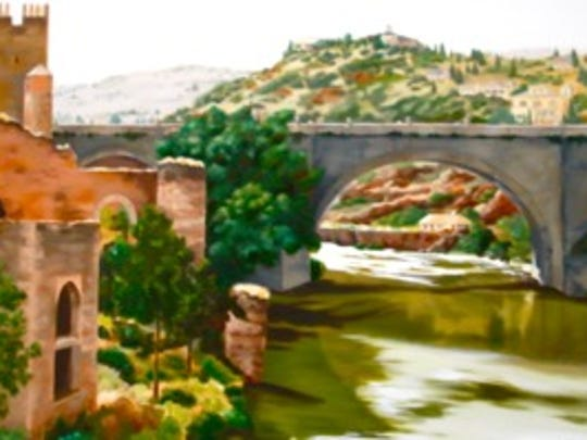 "Teri Maxine Bartolo's ""El Castillo"" oil painting"
