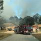 Palm Bay fire crews halt brush fire that threatened homes