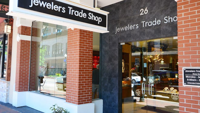 Remodeling is underway for an in-house Rolex Boutique at Jewelers Trade Shop in downtown Pensacola.