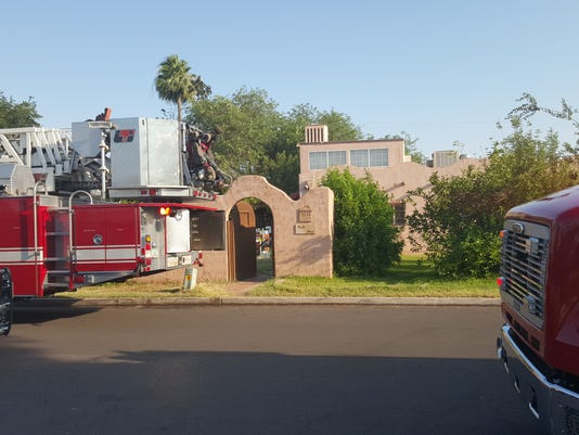 Phoenix Home affected by pole fire