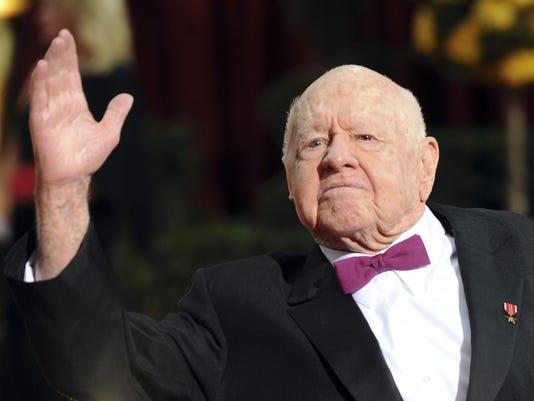 Hollywood Legend Mickey Rooney Dies