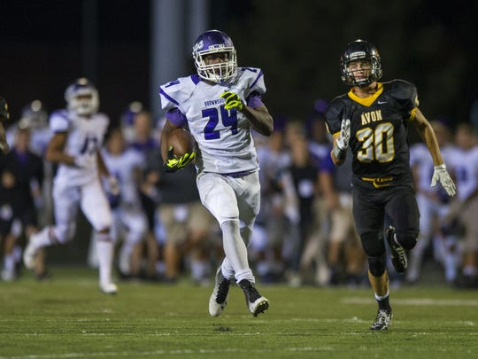 Brownsburg RB Toks Akinribade will tote the rock for Iowa.