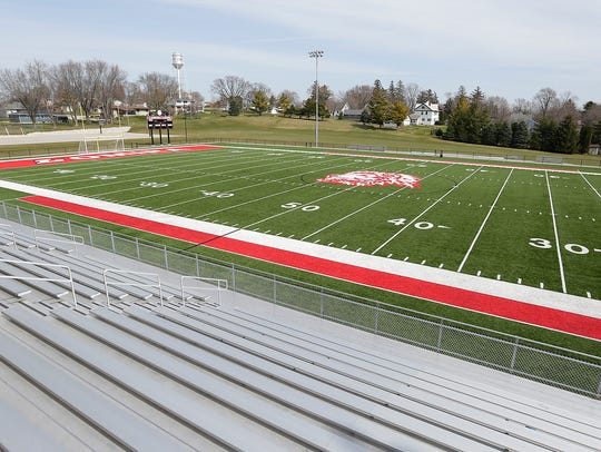 A new turf field is part of the $24 million dollar