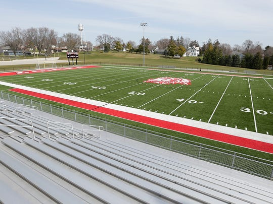 A new turf field is part of the $24 million dollar improvements within the Lomira School District.