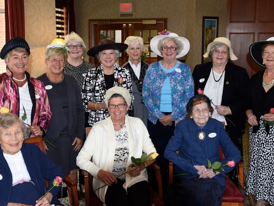 Past presidents of Chambersburg Afternoon Club are