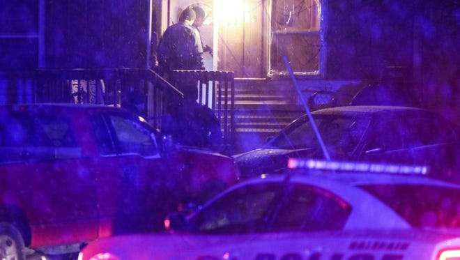 Police investigate a reported shooting and home invasion in Colerain Township late Sunday night into Monday morning.