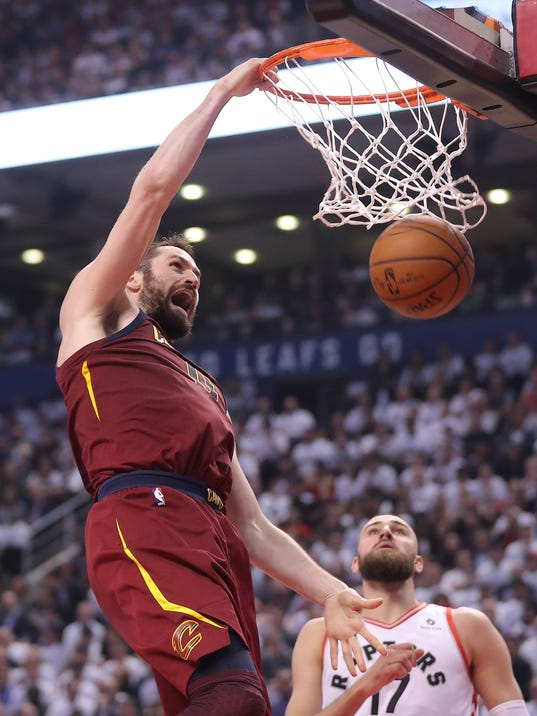 NBA: Playoffs-Cleveland Cavaliers at Toronto Raptors