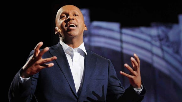 Renowned lawyer Bryan Stevenson is signing books at 6 p.m. today (Dec. 17) at Parlor Market in Jackson.