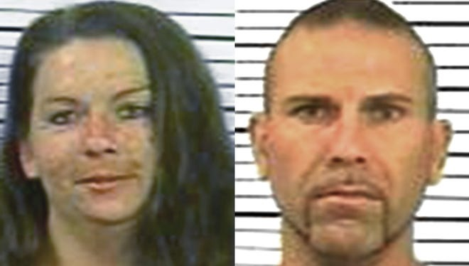 Veronique Henry, left, 32, of East Manchester Township, and Paul Henry III, 41, of East Manchester Township, right.